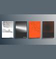 minimal halftone design for flyer poster vector image vector image