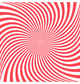 red spiral background - graphic vector image vector image