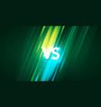 vs versus background vector image vector image