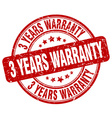 3 years warranty stamp