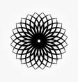 abstract circular 0018 vector image vector image