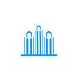 city logo design vector image vector image