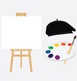Painting school concept vector image vector image