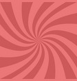 spiral background - from spun rays vector image vector image