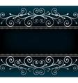 luxurious invitation card vector image