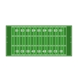 american football field isolated icon vector image vector image