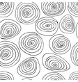 doodle seamless background vector image vector image