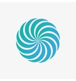 logo design element Abstract whirl swirl vector image vector image