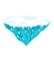 game ice island vector image