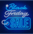black friday sale advertising design vector image vector image