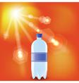 bottle of water vector image