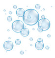 Bubble soap light vector image