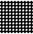 circle white on black background vector image