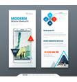 dl flyer design template dl flyer banner layout vector image vector image