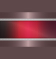 geometric dark pink mesh background with stripes vector image