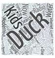 kids bathroom accessories Word Cloud Concept vector image vector image