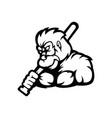 king kong logo vector image