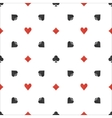 Poker flat simple pattern vector image