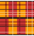 Red orange tartan vector image vector image