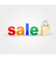 Sale banner vector image vector image