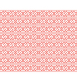 Seamless Knitted Pattern for christmas vector image