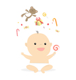 baby gifts vector image