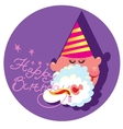 Beautiful of a Happy Birthday vector image