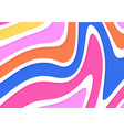 abstract wavy flow background colorful geometric vector image