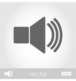 Audio speaker volume icon vector image vector image