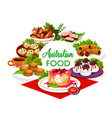 australian cuisine food lunch dinner meals menu