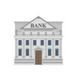bank building historical financial architecture vector image vector image