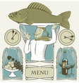 cook fish vector image