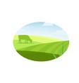 farm concept logo vector image vector image