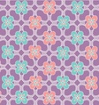 Java floral pattern vector image vector image