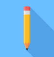 Pencil flat vector image vector image