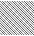 striped black seamless pattern vector image vector image