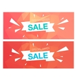 Super Sale Special Offer banner on red background vector image vector image