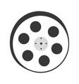 tape reel film icon vector image vector image