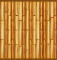 wooden bamboo background seamless pattern vector image vector image