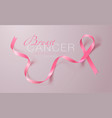 breast cancer awareness calligraphy poster design