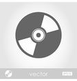 CD or DVD icon vector image vector image