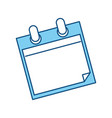 empty notes isolated vector image