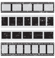 film reel seamless vector image vector image