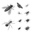 small and animal sign set vector image vector image