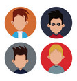 people community social society vector image