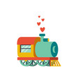 abstract with locomotive and vector image