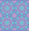 abstract geometric circles seamless pattern vector image vector image