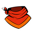 cowboy neckerchief icon icon cartoon vector image