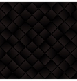Dark brown weaved squares geometric seamless vector image