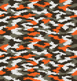 digital fashion camouflage 2 vector image vector image